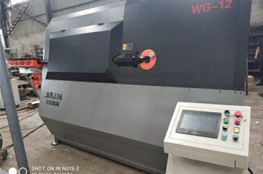 4-12 mm hydraulisk automatisk cnc 2D trådböjningsmaskin leverantör