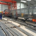 gjord i china enkel drift hållbar och robust kvalitetssäkring stål rebar bursvetsning maskin och förstärkande bur tillverkning