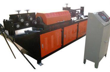 automatisk hydraulisk trådrätning och skärmaskin